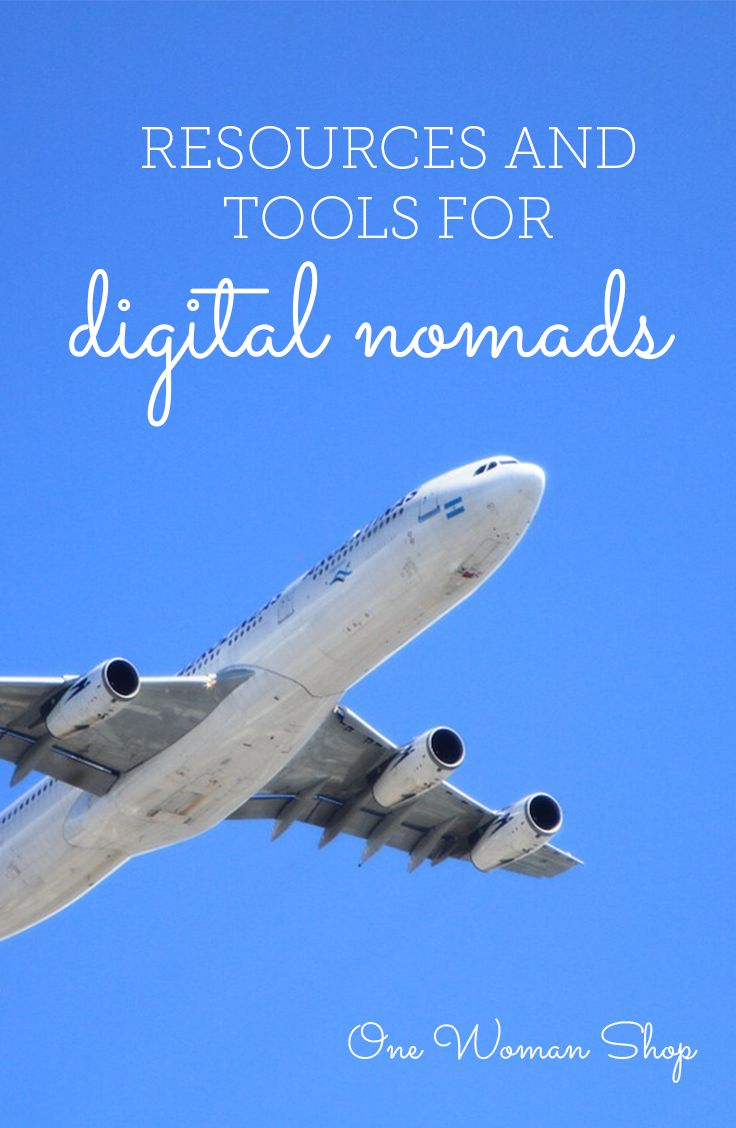 Resources  tools for digital nomads from One Woman Shop