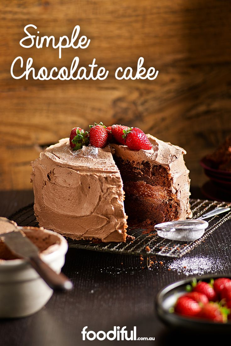 If you can't seem to decide upon a cake to delight Mum with this Mother's Day, this one will take the cake (pardon the pun). Chocolate on chocolate, this cake has a middle layer of creamy choc goodness. It takes 1 hr and 30 mins to make and serves 12 people.