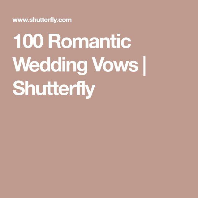 Romantic Places Renew Wedding Vows: Best 25+ Romantic Wedding Vows Ideas On Pinterest