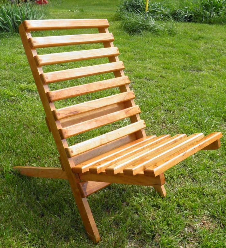Wooden Folding Camp Chair Plans - WoodWorking Projects & Plans