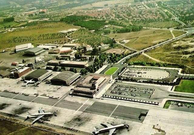 Aeroporto de Lisboa na década de '60