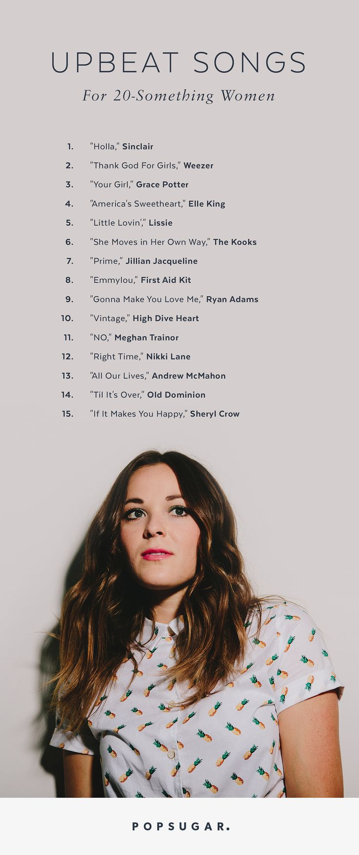 Songs For 20-Something Women to get pumped up for Summer!