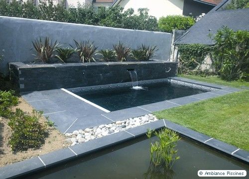 Pinterest the world s catalog of ideas for Bassin piscine pierre