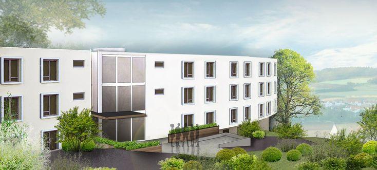 Neubau Pflegeheim nach KfW-55-Bauweise in Grävenwiesbach im Vertrieb. Investoren können von KfW-Darlehen sowie einem Tilgungszuschuss profitieren. Die Apartments werden im 4. Quartal 2019 fertiggestellt. Mehr Informationen finden Sie unter: http://www.ott-kapitalanlagen.de/pflege-immobilien/pflegeappartement-in-graevenwiesbach-kaufen.html