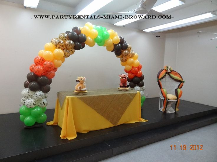 Lion King Baby Shower Theme | Baby Shower