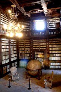 MUSEO DIFFUSO DEL FERMANO - Fermo, Public Library, Globe Room, Italy