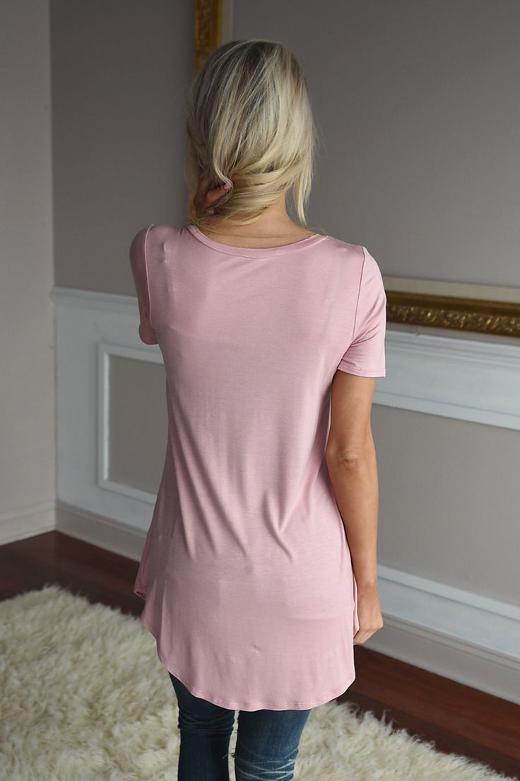 Essential Peach Top ~ Short Sleeve – The Pulse Boutique