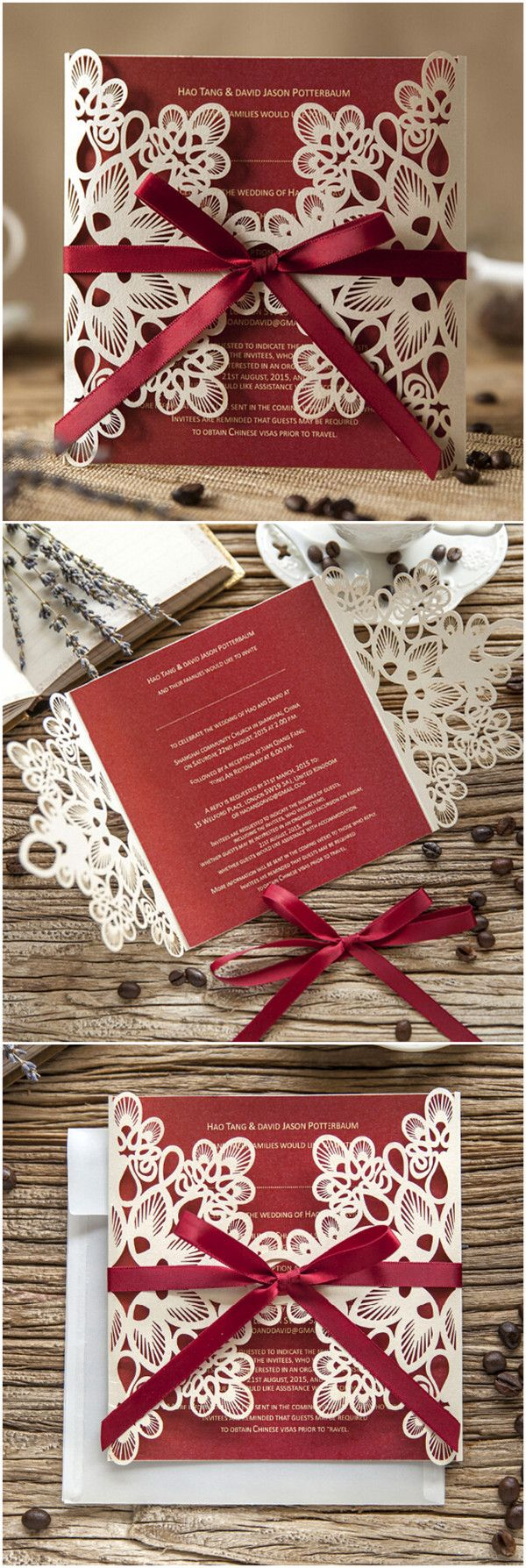 62 best wedding invites 2016 images on Pinterest | Mariage, Invites ...