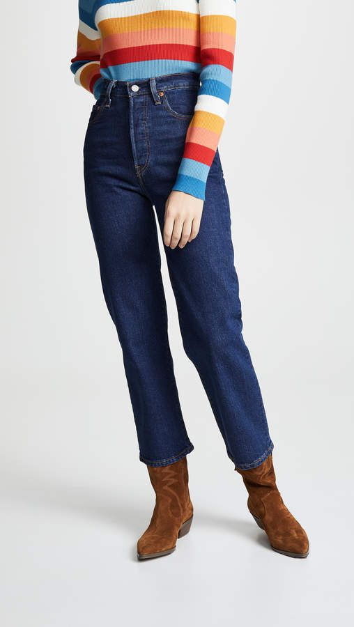 8271fc7e Levi's The Ribcage Straight Jeans in 2019 | Products | Jeans, Types ...