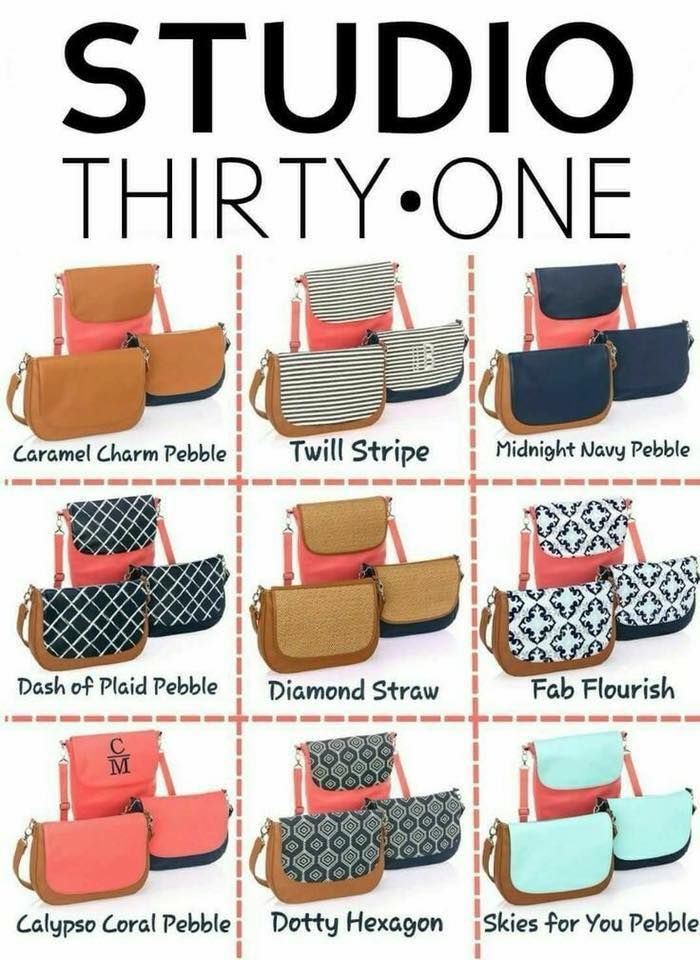 B Y O Build Your Own Bag With Studio Thirty One Purse Interchangeable Bases Flap Strap And You Can Personalize The Flaps Order Today At