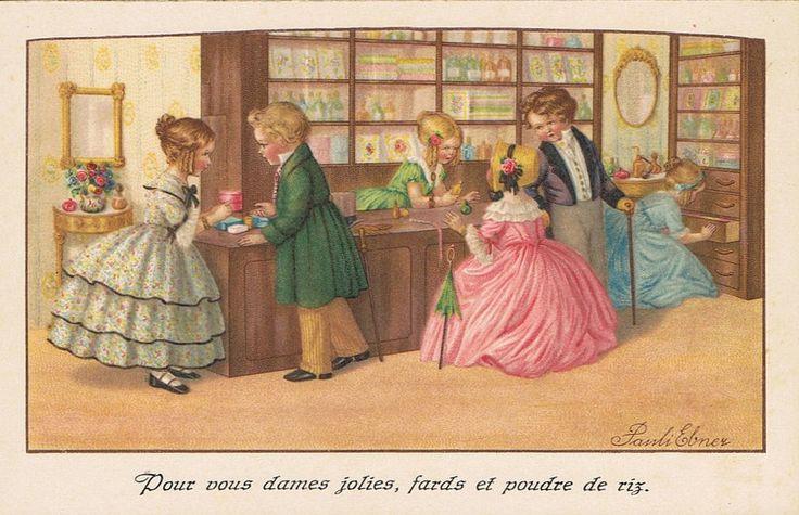 Pauli Ebner (1873-1949) — Old Post Cards  (950x614)