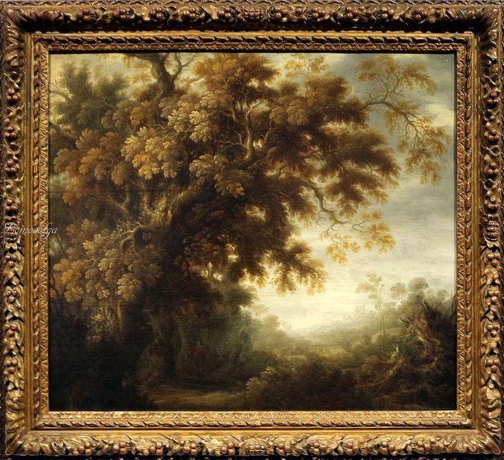 Alexander keirincx, Paesaggio boscoso, 1630-35 ca