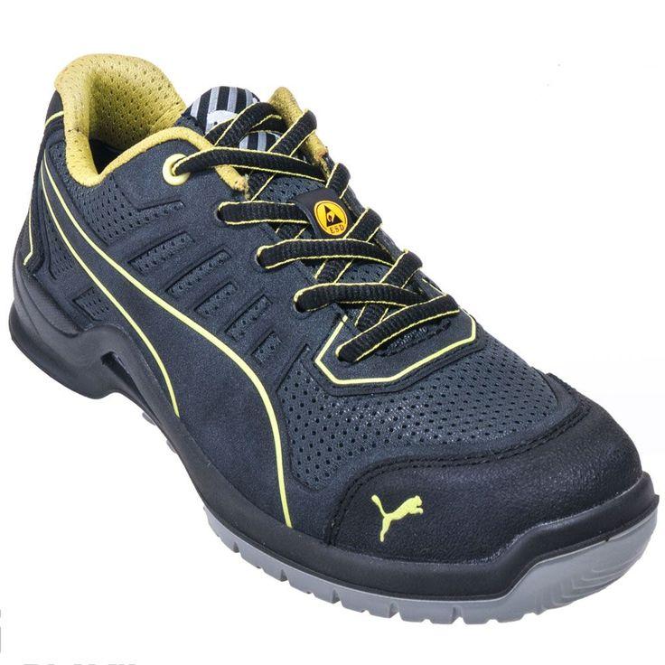 Puma Women's 64.410.5 Green Low Steel Toe ESD Work Shoes