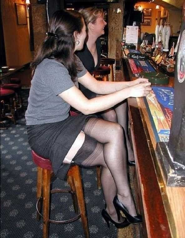 wearing in public pantyhose Amatures