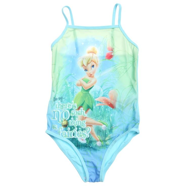 Costume da bagno intero 'Disney Fairies'                                                                                                                  rosa Infanzia bambina