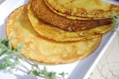 Gluten Free Savoury Pancake Recipe – with chickpea flour