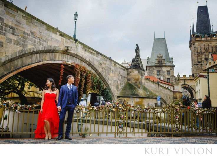 London wedding & Prague pre-weddings photographer - A Charles Bridge marriage proposal in Prague: destination pre wedding photos & a surprise marriage proposal in Prague featuring Rebecca & Frank  Our latest couple Rebecca and Frank hail from&nbsp,Shanghai, decided to have a photo session in&nbsp,Prague after traveling around Europe.&nbsp,Unbeknownst to Rebecca, Frank also had a surprise engagement ring –&nbsp,and what followed was a wedding proposal that was live streamed to the world…