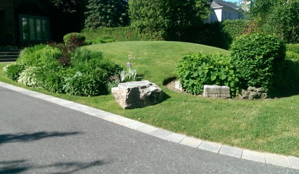 78 best images about corner lot landscaping ideas on for Large lot landscaping ideas