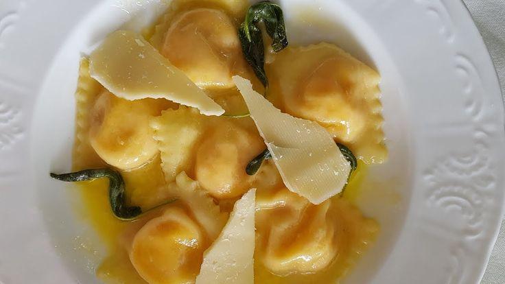 Sweet Potato and Ricotta Ravioli Recipe