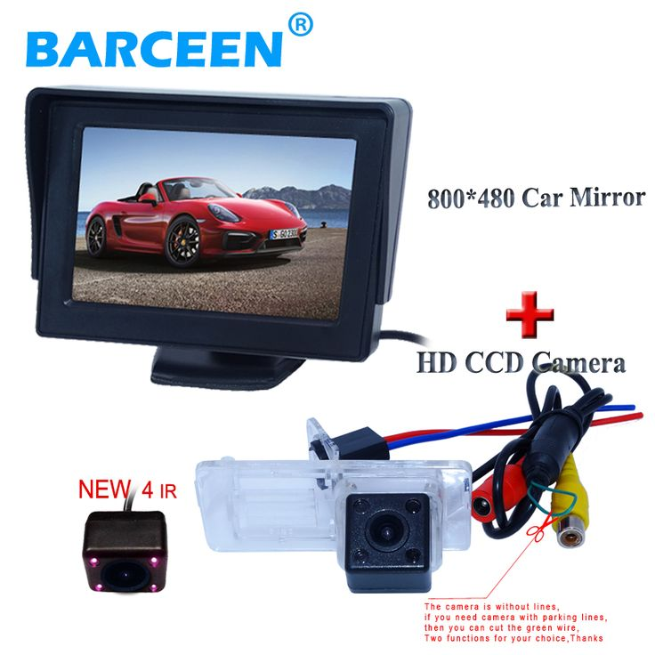CCD Color Car Reverse Rear View Parking Back Up Camera For MITSUBISHI Lancer - фото 7