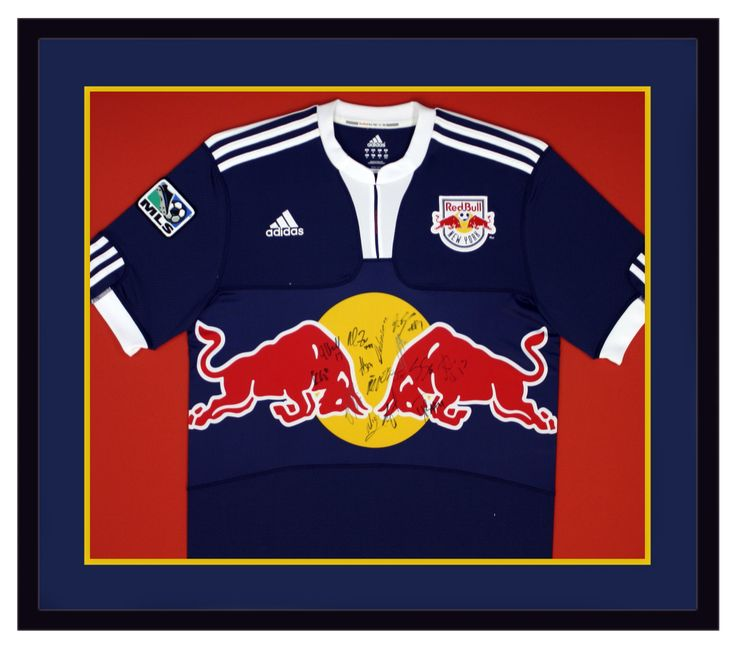 23 best sports jersey display images on pinterest coat hanger specialty framing of signed new york red bulls soccer jersey custom design by art and solutioingenieria Gallery