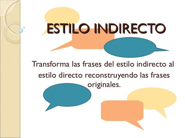 Actividad encontrada en la red y modificada para trabajar el paso de estilo indirecto a directo.