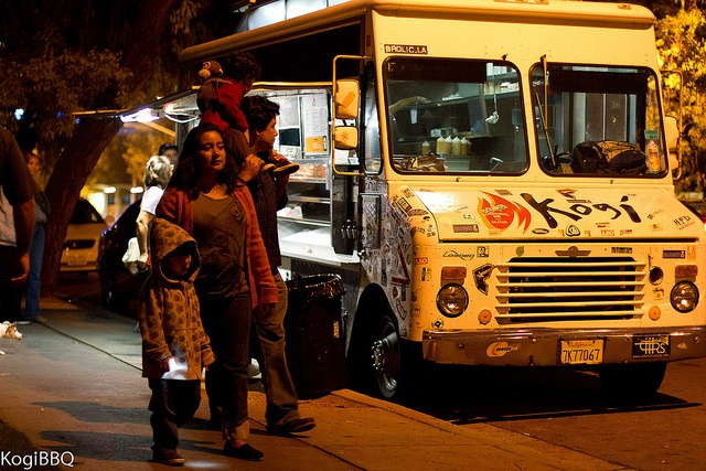 A MUST TRY!!! Kogi BBQ, gourmet food truck concept at its best with korean and mexican food. More info em kogibbw.com