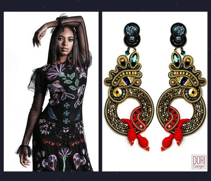 Bello magazine 'it girl' Chandler Kinney is making a fashion statement with our couture earrings!   #doricsengeri #coutureearrings #chandlerkinney #LeathalWeapon #designerjewelry #fashionmagazine  #bellomagazine