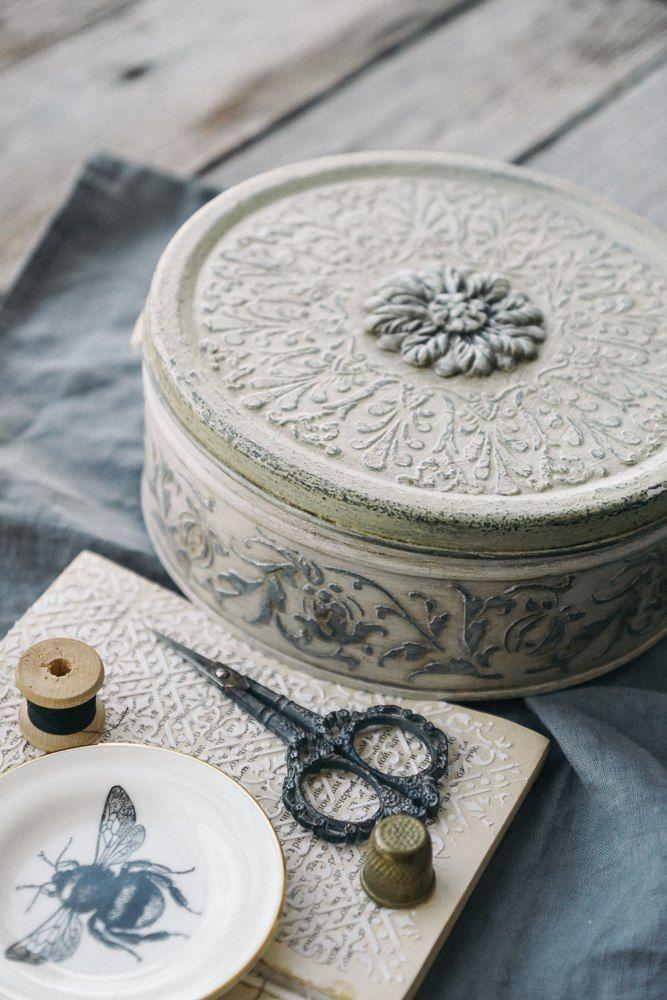 Белая Веранда• Декорирование предметов интерьера