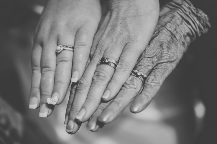 3 generations wedding rings