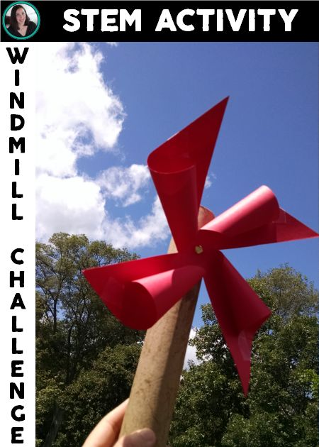 Can you design and construct a freely spinning windmill? STEM challenge for budding engineers | Meredith Anderson