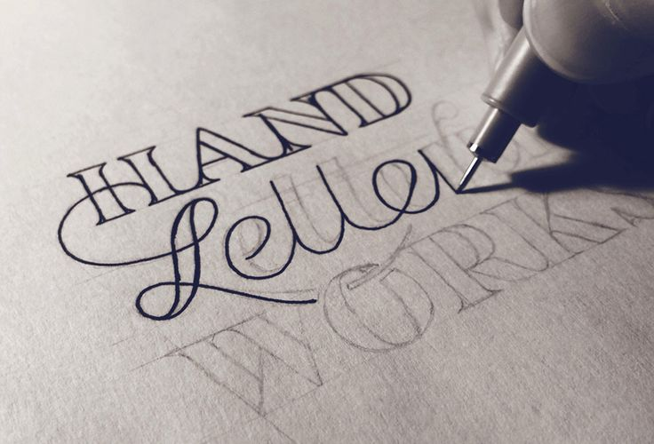 Hand Drawn typography by Sean McCabe