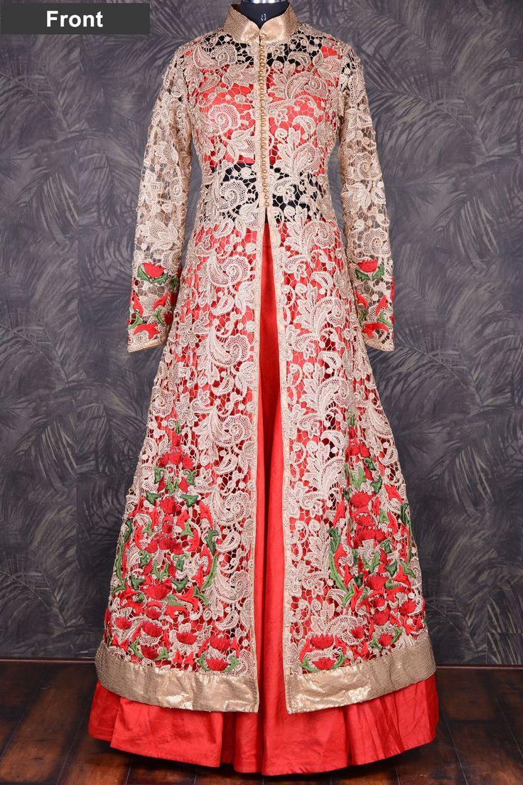 wedding dress 19483006be4088f70a9465d8e953ce72--red-lehenga-anarkali