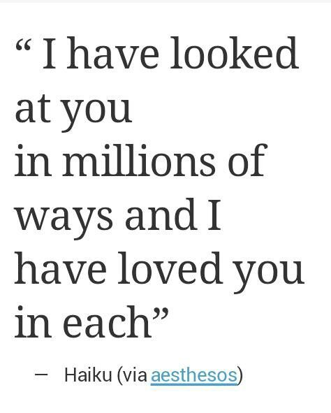 i have loved you in each.♥