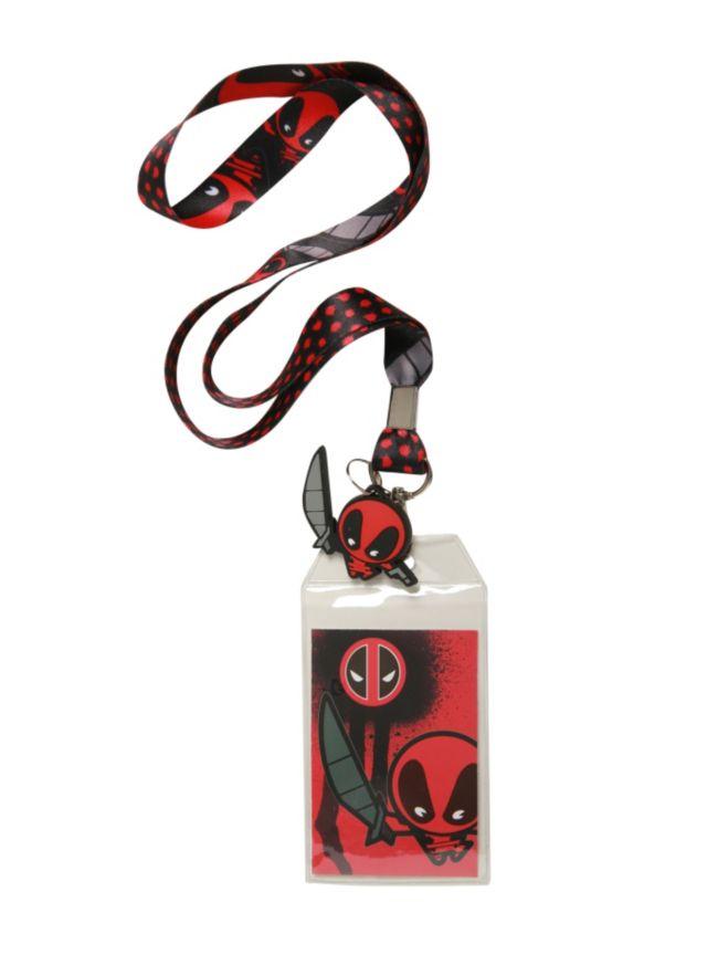 Marvel Deadpool Kawaii Lanyard | Hot Topic