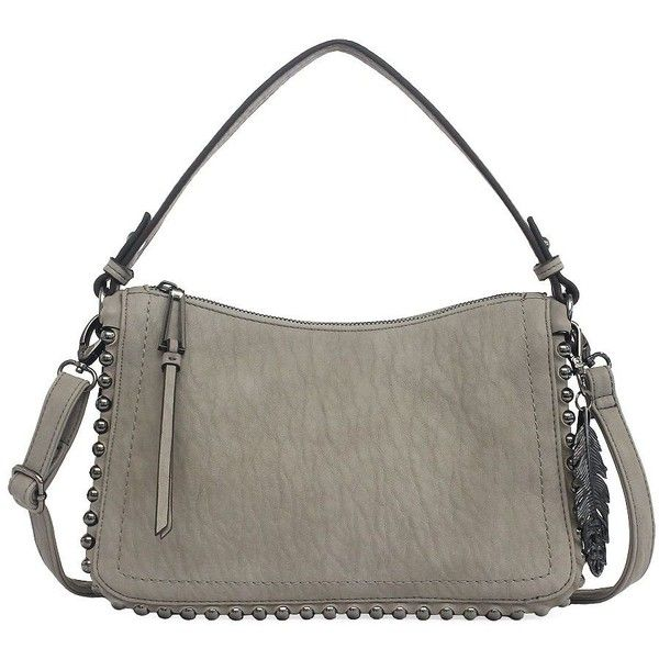 Jessica Simpson Camile Shoulder Bag ($88) ❤ liked on Polyvore featuring bags, handbags, shoulder bags, light blue, light blue purse, jessica simpson handbags, shoulder hand bags, white shoulder handbags and white purse