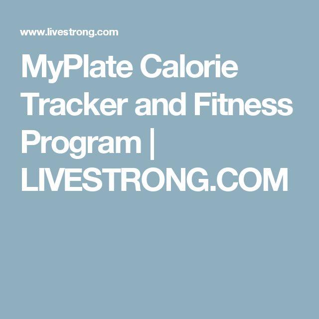 MyPlate Calorie Tracker and Fitness Program   LIVESTRONG.COM