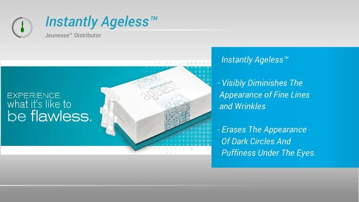 Jeunesse Instantly Ageless. An anti ageing wrinkle product for dark circles, fantastic lines and dark bags below the eyes. Jeunesse Worldwide formulated the Instantly Ageless wrinkle remover to get rid of those wrinkles and erases ten a long time from your age. Likes: Considered: ten click... #ageless #agelessjeunesse #argireline #agelesscream #instantlyageless