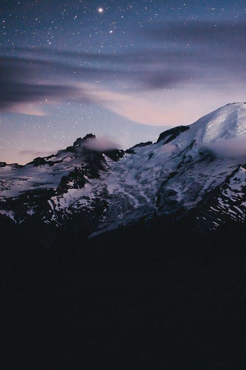 """Chasing Stars at Mount Rainier"" by Jared Atkins"