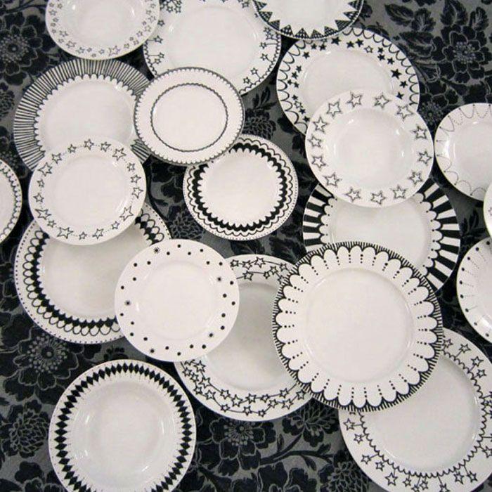 hand painted plates! www.loinlondon.com