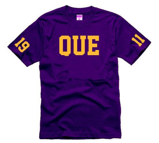 """Omega Psi Phi """"QUE 1911"""" Tshirt"""