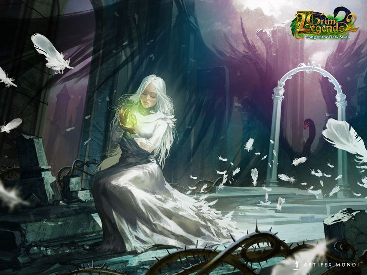 Grim Legends 2: Song of the Dark Swan 1280x960 #wallpaper