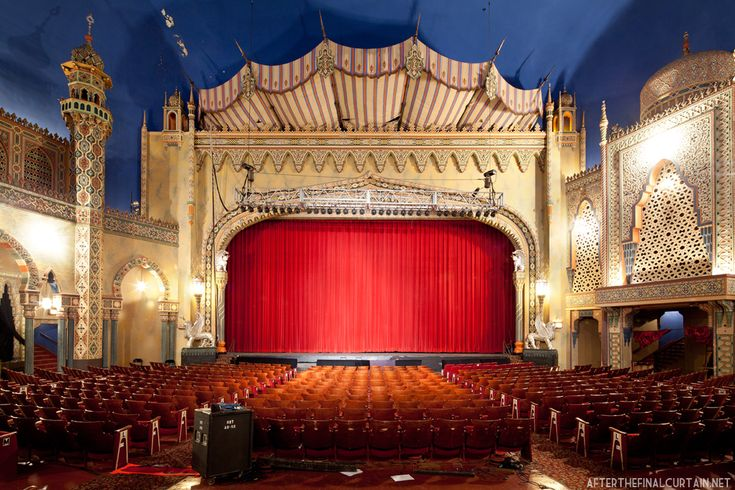 The Proscenium Arch Was Built To Resemble A Fortified Wall