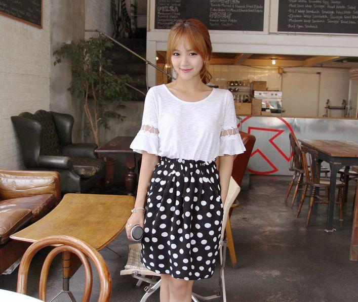 Korea Womens Luxury Shopping Mall [mimindidi] Coco Rain tee / Size : FREE / Price : 28.65 USD #koreafashionshop #koreafashion #pinterfashion #pinterclothes #pintershop #koreashop #dailyfashion #OOTD #apparel #top