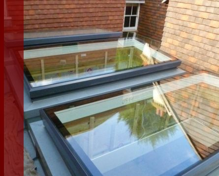 Flush Glazed Skylights - Flat Roof Lights - Pyramid & Lantern Lightwells
