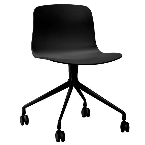 Black About A Chair desk chair by Hay.