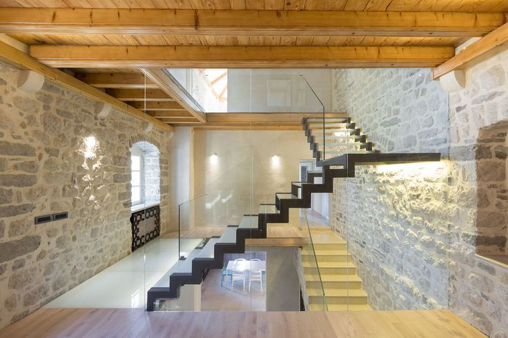 Modern Refresh Of An Old Stone Villa   Ljuta, Montenegro | Architecture |  Pinterest | Stone Houses, Interiors And House