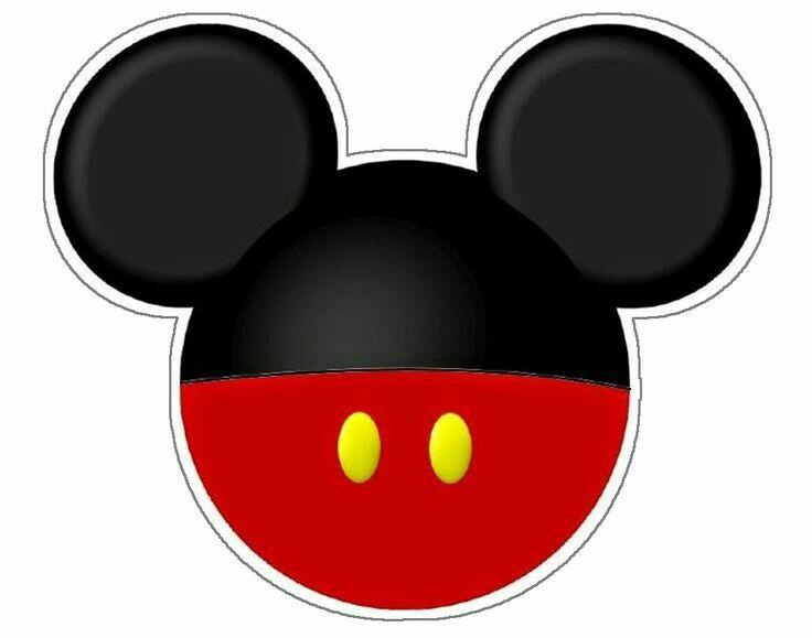Cabeza de Mickey mousse