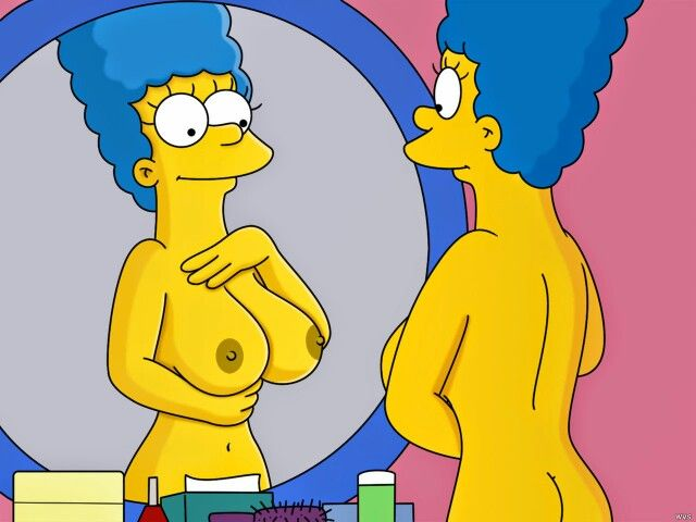 marge simpson nude hot pussie and boobs