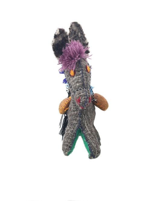 Donkey - Woollen animal from Chiapas, Mexico